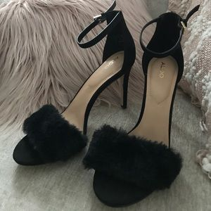 Fur heels
